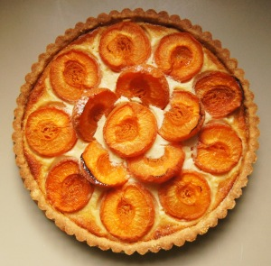 Lord Avenley's Sweet Apricot Tart