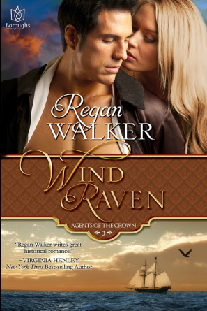 Wind Raven, Regan Walker, Historical Pirate Romance