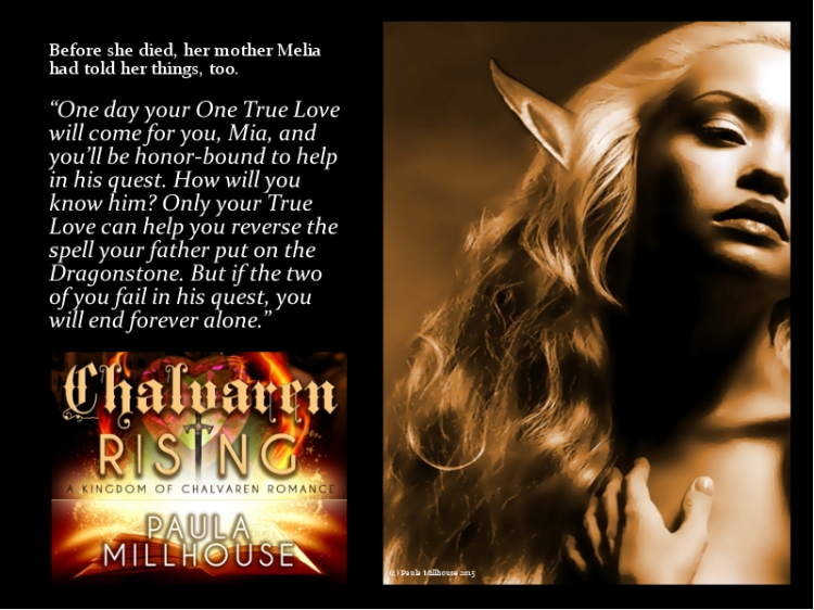 Mia Ansgar, Prophecy, Chalvaren Rising, Fantasy Romance, Paula Millhouse, Magic