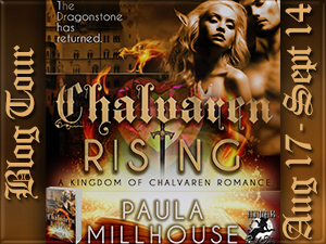 Chalvaren Rising, Novel, Sword&Sorcery, magic, dragons, fantasy romance, Paula Millhouse