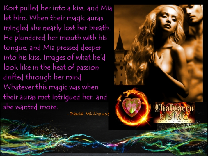 Magic, Kort & Mia, Chalvaren Rising, Paula Millhouse, Kiss, Romance, Fantasy, Boroughs Publishing Group