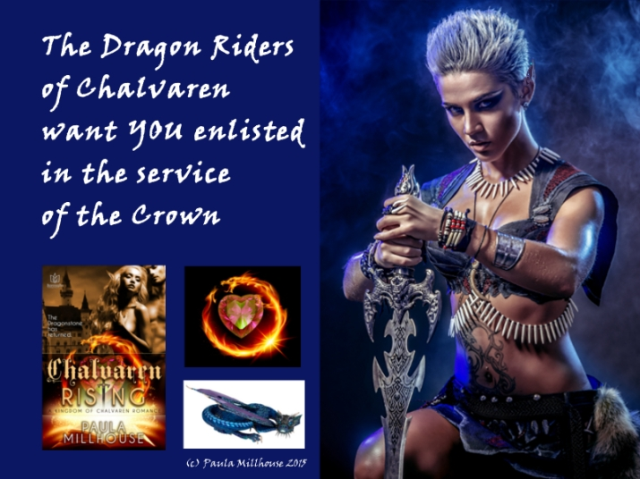 Chalvaren Rising, Dragon Warriors, Paula Millhouse