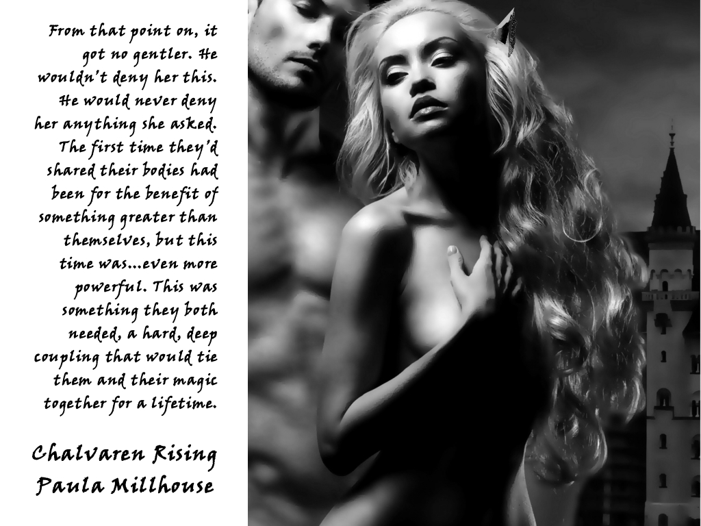 Sex, Chalvaren Rising, Hard Coupling, Author Paula Millhouse. Fiction, Fantasy Romance, Paranormal Romance, Boroughs Publishing Group
