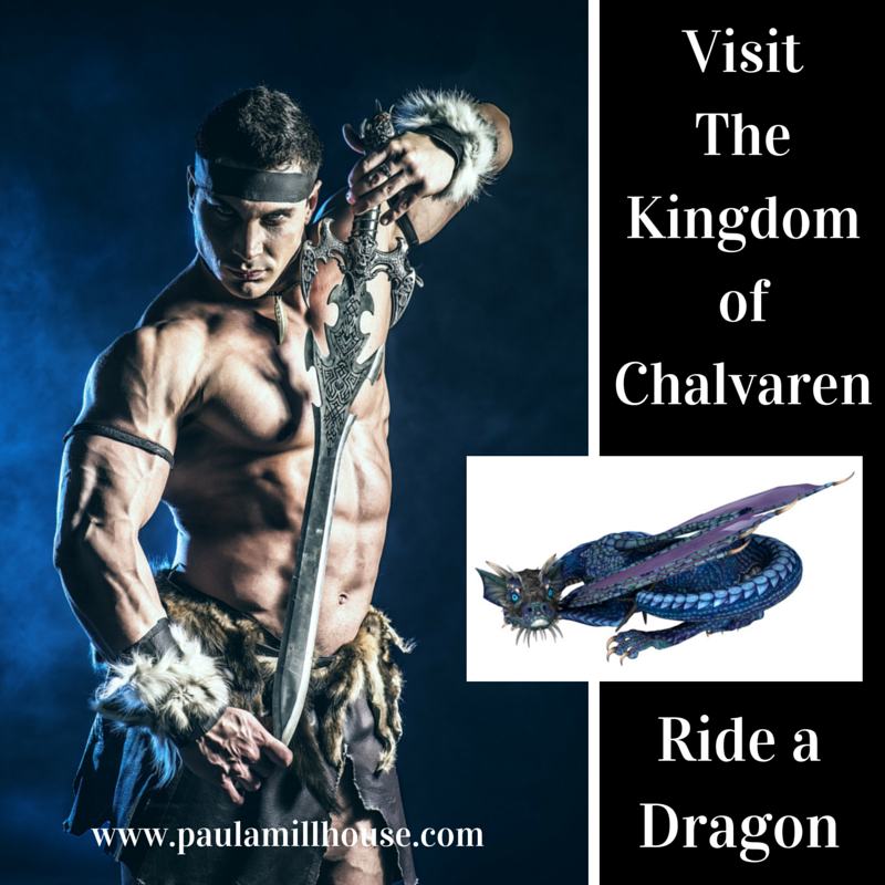 Ride a Dragon, Chalvaren Rising, Fiction, Paula Millhouse, Fantasy, Romance, Nove