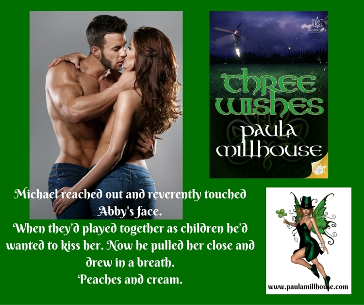 THREE WISHES, Paula Millhouse, fairies, fairy, leprechaun, St. Patrick's Day, www.paulamillhouse.com