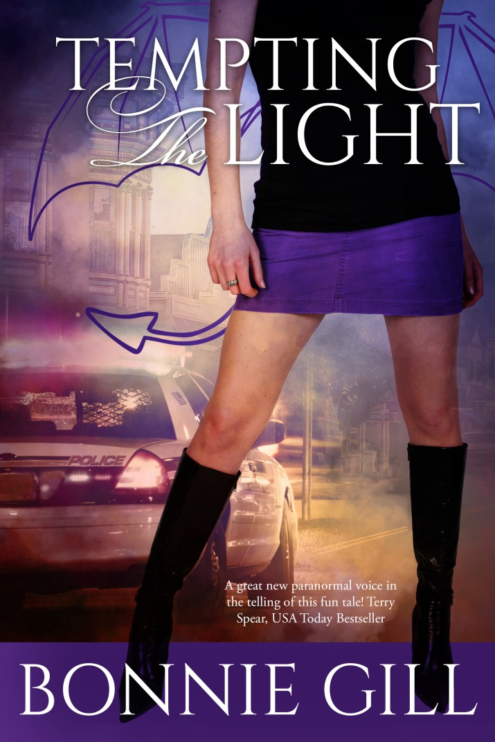 Tempting the Light, Bonnie Gill, Paranormal Romance, humorous, Jersey Devil, LAMPS, garden gnome,