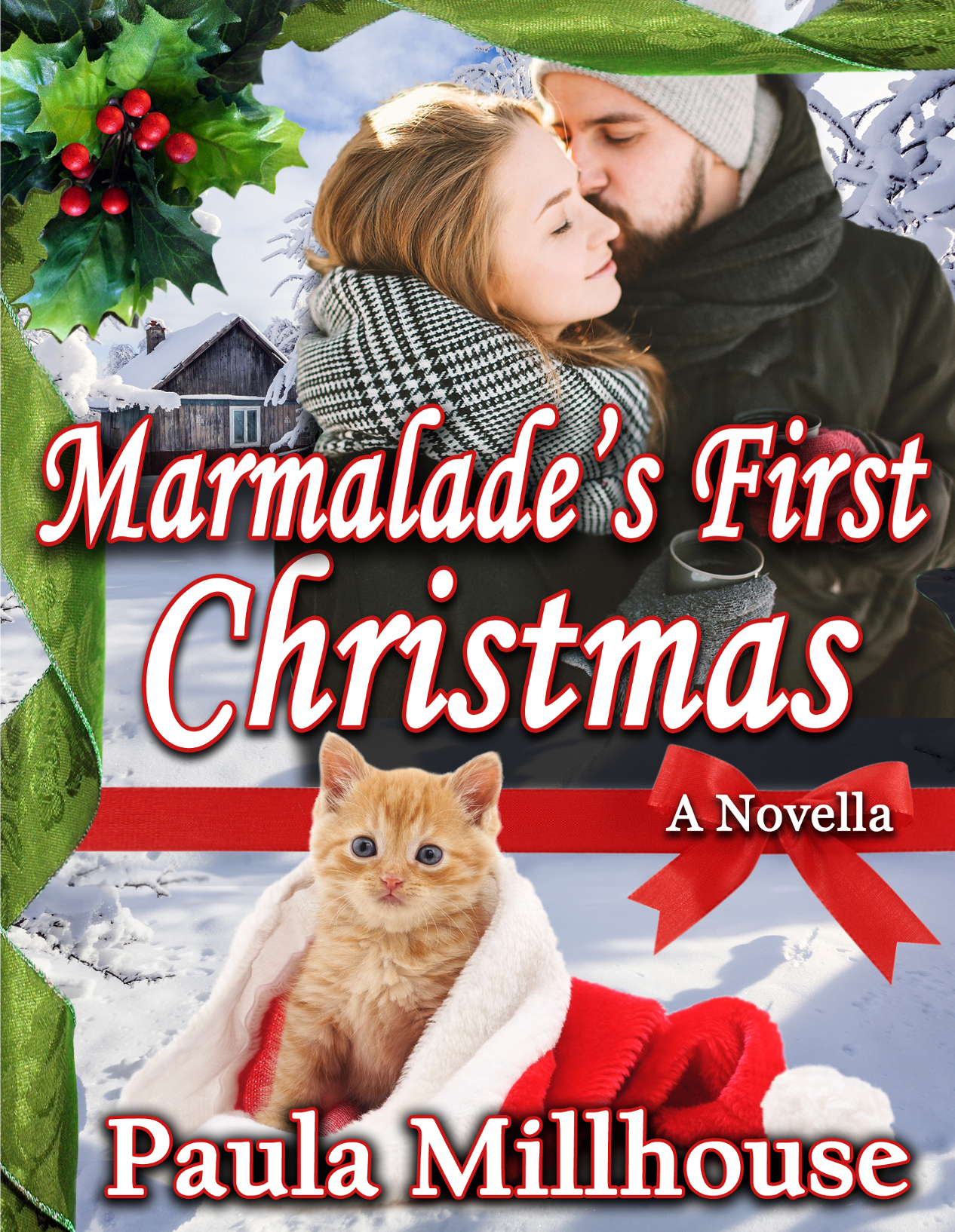 Author Paula Millhouse, Marmalade's First Christmas, Contemporary Romance, Holidays, Kitten, Love, season, giving, hot chocolate recipe