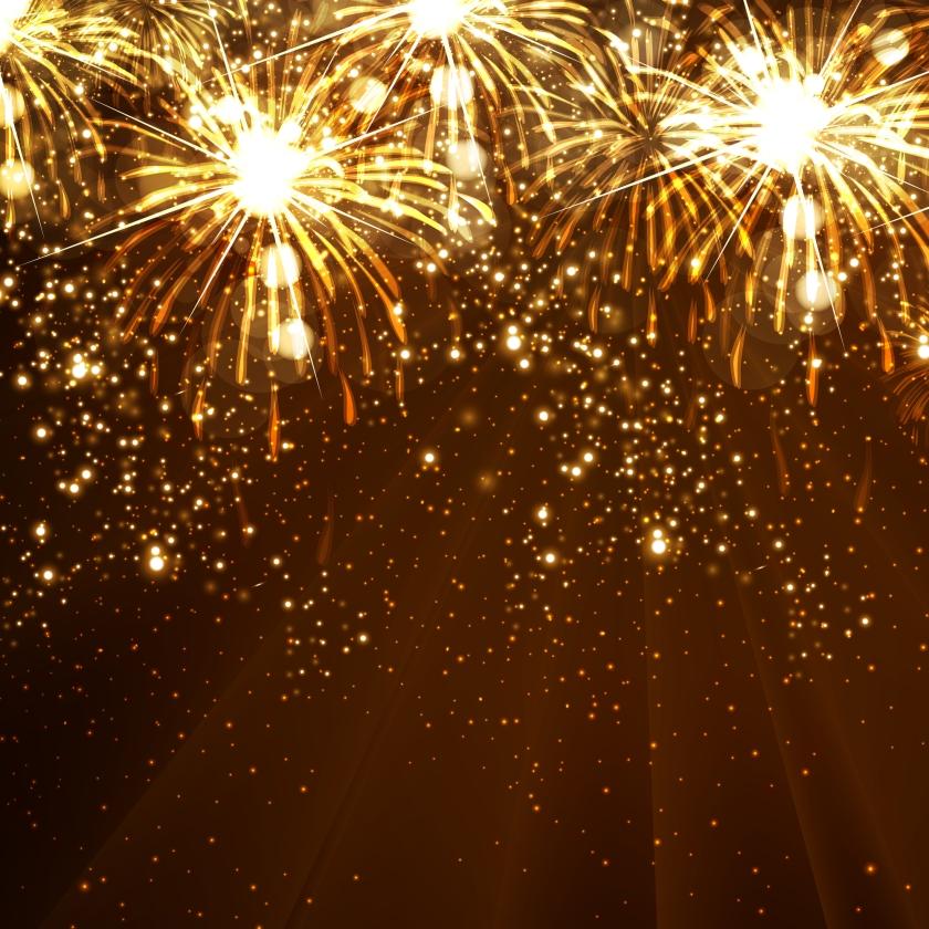 New Year celebration background