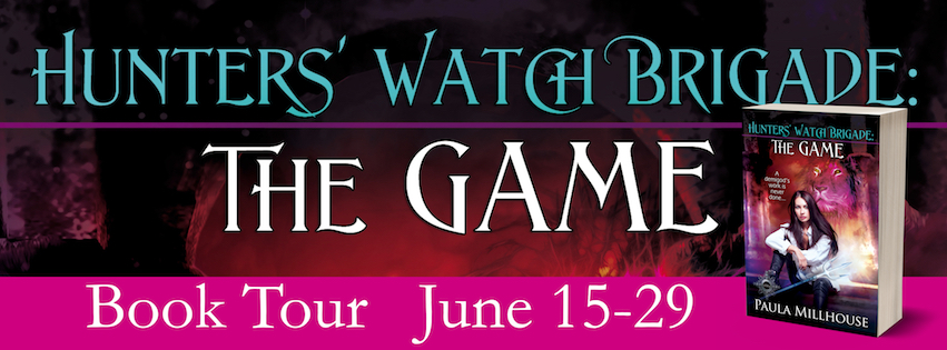 Paula Millhouse, Hunters' Watch Brigade: The Game, Book Tour