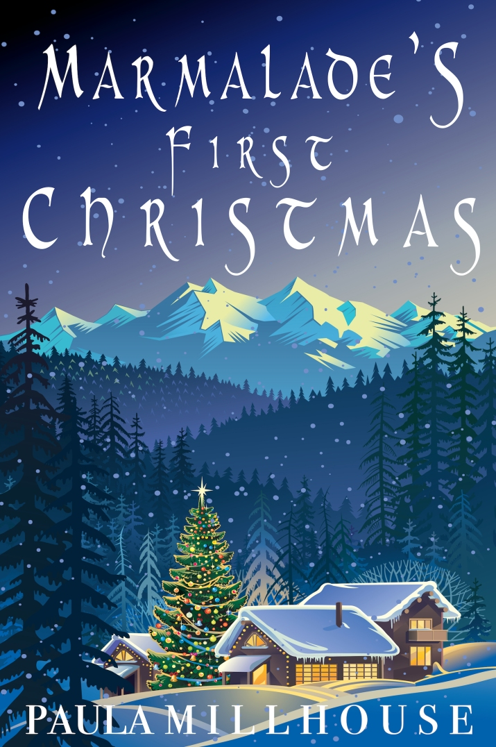 Merry Christmas, Marmalade's First Christmas, Happy holidays, kitten, horses, love, second chance romance, First Christmas, Spirit of Christmas, romance, Paula Millhouse Author, fiction, Sweet & Spicy holiday romance, Season's Greetings